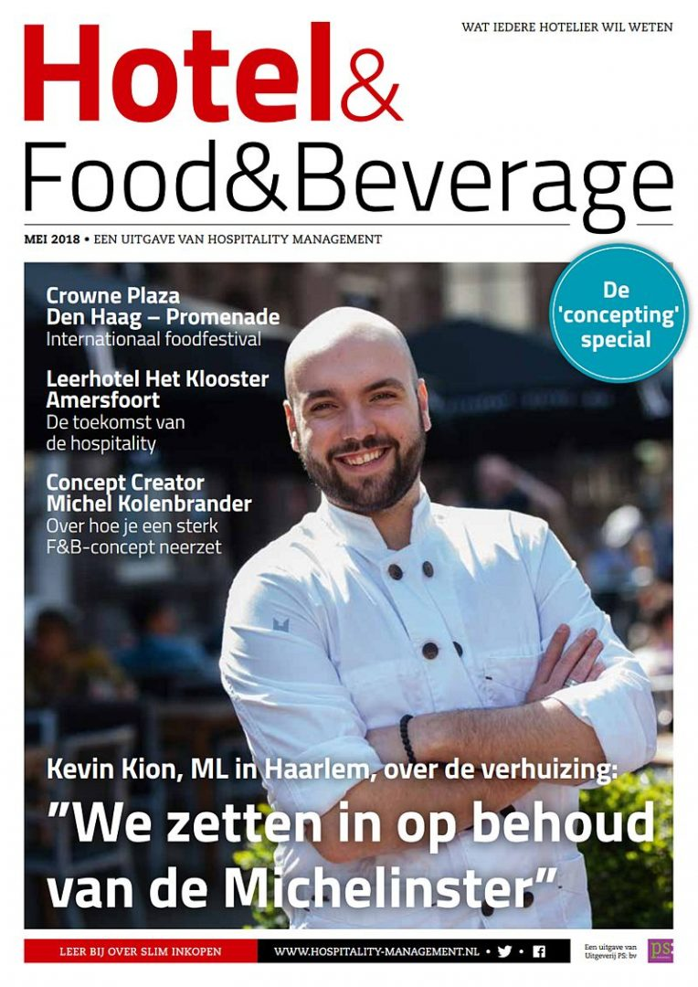 Cover Mei 2018 van Hotel & Food & Beverage van Hospitality Management